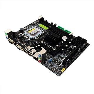 Oshide 945GC Desktop Motherboard, Tarjeta Madre LGA-775 ddr2 Chip Integrado, Tarjeta de Sonido, Tarjeta de Red 4G Memory DDR2