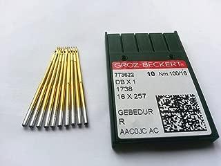 Groz-beckert Db1 Dbx1 1738 Titanium Plated 100/16 Industrial Sewing Needle 50pcs