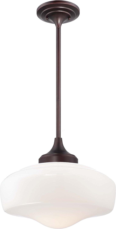 Attention brand Minka Lavery 2258-576 Round Pendant Ceiling Lighting 5% OFF Schoolhouse