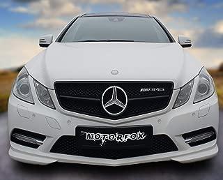 Motorfox Led Badge Emblem White Light Car Star Logo Front Grill Glow (Silver 2011-2019)