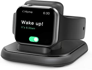 Conido Charging Stand for Apple Watch, Watch Charger Stand with Charging Cable, Magnetic Wireless Charging Station Compati...