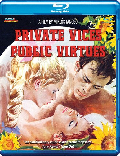 PRIVATE VICES PUBLIC VIRTUES - PRIVATE VICES PUBLIC VIRTUES (1 Blu-ray)