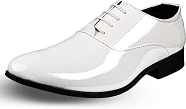 Mens Tuxedo Shoes Patent Leather Formal Business Oxford Dress Shoes