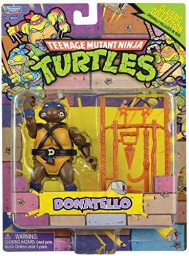 Teenage Mutant Ninja Turtles Classic Collection Action Figure, Donatello, 4 Inches