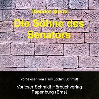 Die Söhne des Senators                   Autor:                                                                                                                                 Theodor Storm                               Sprecher:                                                                                                                                 Hans Jochim Schmidt                      Spieldauer: 1 Std. und 41 Min.     2 Bewertungen     Gesamt 4,0