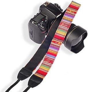 SYGA 1 Piece Red Coloured DSLR Camera Shoulder Strap