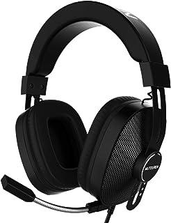 MUTOUREN Auriculares Gaming PS4 Juego Headset Headphone con Micrófono Cascos Gaming con..