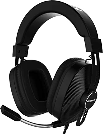 Cuffie Gaming Headset, MUTOUREN Cuffie da gioco per PS4, Xbox One e PC con microfono a cancellazione del rumore, luce LED, cuffie Surround Sound da gioco per PC/Xbox One/PS4/Nintendo Switch/Wii U - Trova i prezzi più bassi