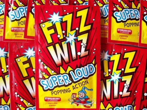 Fizz Wiz 90s Fiesta Decoración Mesa 10 Paquetes de Peta-Zetas / Polvo Espacial