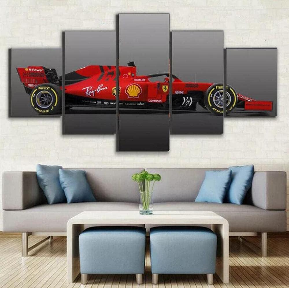 Posters Prints Formula 1 Ferrari Racing overseas Canvas Wal Car cheap Piece 5