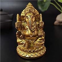 Statue Sculpture Ganesha Statue Buddha Elephant God Resin Sculpture Home Décor Decoration