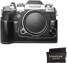 Fuji X-T3 Camera Case  kinokoo Half Case for Fujifilm X-T3 Bottom Cover Protective Case  black