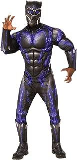Men's Marvel: Avengers 4 Deluxe Purple Battle Black Panther Adult Costume