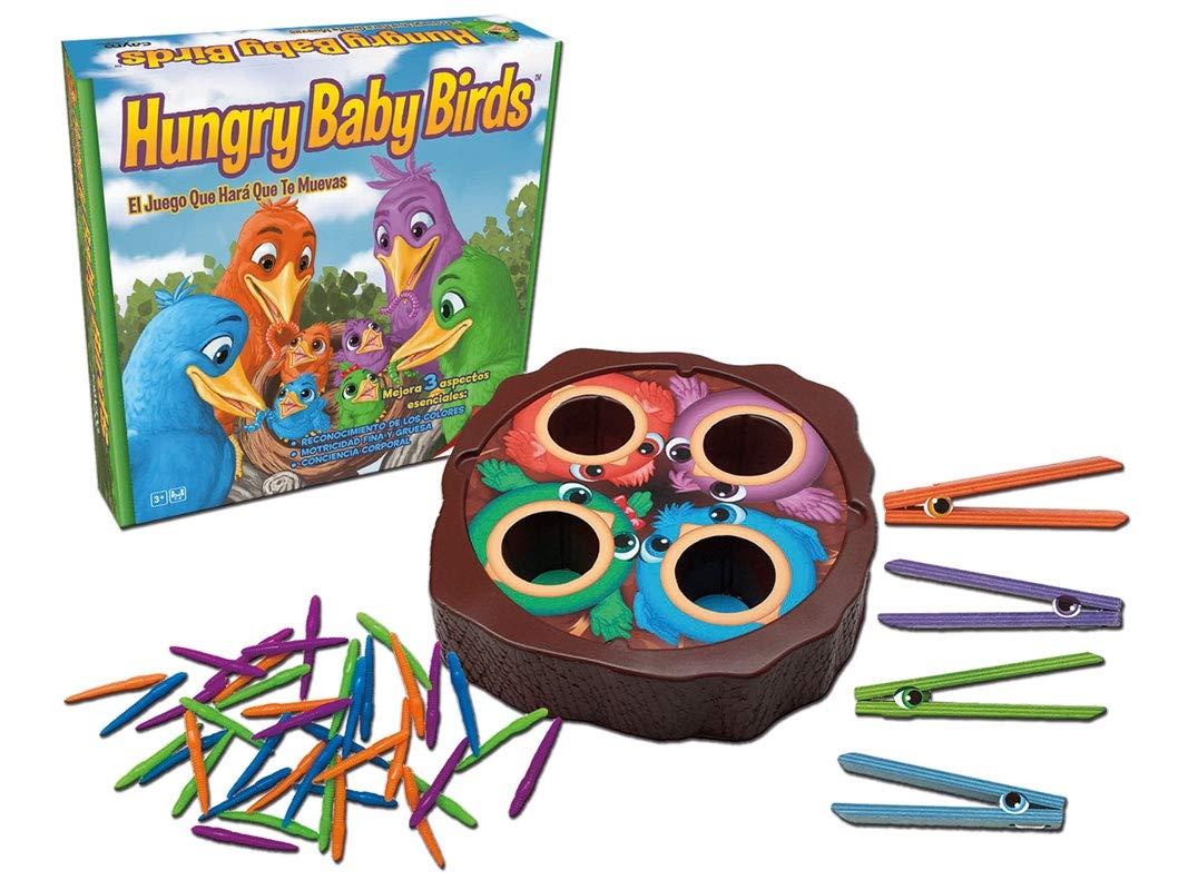 Amazon.es: Cayro - Hungry Baby Birds - Juego de Mesa Infantil- Juego para niños - Juego de Mesa (891)