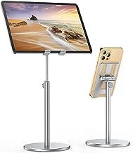 "پایه تلفن همراه برای میز ، پایه ثابت اپل آلیاژ آلومینیوم ، پایه نگهدارنده گوشه LISEN تلفن قابل تنظیم پایه دارنده تلفن برای میز برای تلفن های 4.7 ""-12.9"" ، تبلت ، سوئیچ نینتندو ، کیندل"