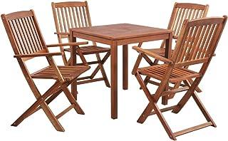 Amazon.es: Madera Conjuntos de muebles de jardín Muebles