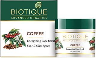 Biotique Coffee Energizing Face Scrub for All Skin Types, 50g