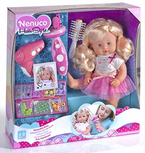 Nenuco Famosa 700012385 - Bambola Parrucchiera
