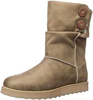 Skechers KEEPSAKES 2.0 - UPLAND - Mid Big Button Slouch Boot womens Mid Calf Boot