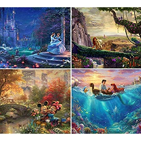 Disney The Villains Ursula The Little Mermaid Panorama Puzzle 1000 Piece Professional Soft Click Jigsaw Ages 12+