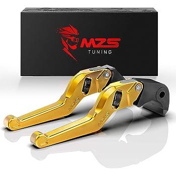 MZS Short Levers Adjustment Brake Clutch CNC for Honda CMX 300 500 Rebel 2017-2018// Fury VTX1300CX 2009-2018// VT750 Phantom Shadow 2010-2017// NC750S NC750X 2014-2015// Black Spirit 2014-2016 Black