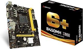 Biostar B450MH - Placa Base (DDR4-SDRAM, DIMM, 1866,2133,2400,2667,2933,3200 MHz, Dual, 8GB,16GB, 32 GB)