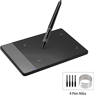 HUION 420 Black 4-by-2.23 Inches OSU! Tablet Graphic Drawing Tablet Signature Pad for Mac and Windows PC