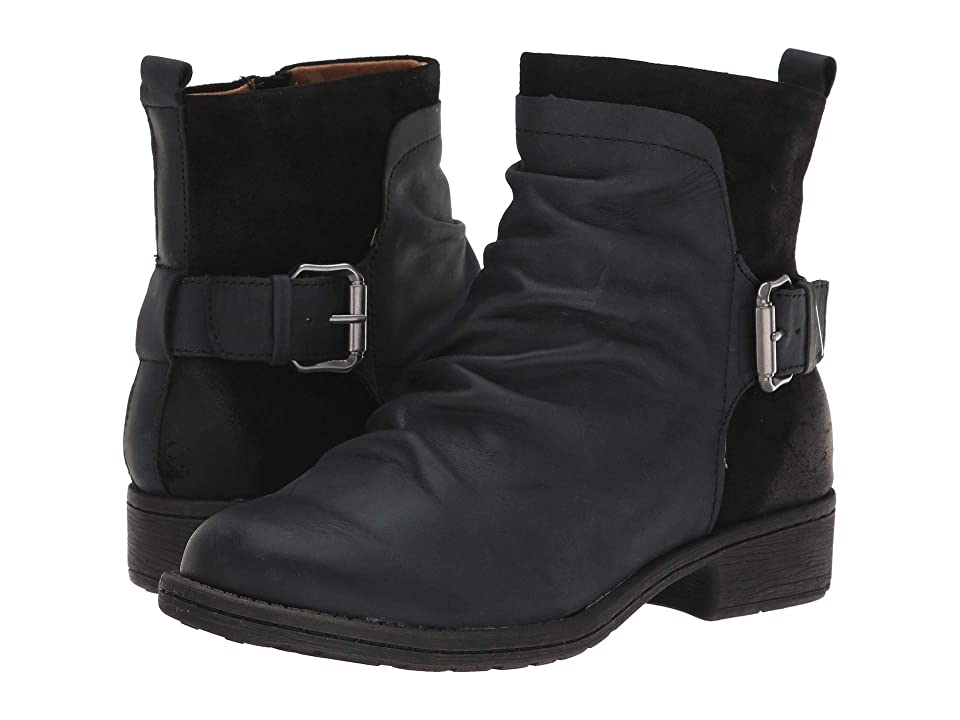 Comfortiva Selas (Black Rodeo/Oiled Cow Suede) Women
