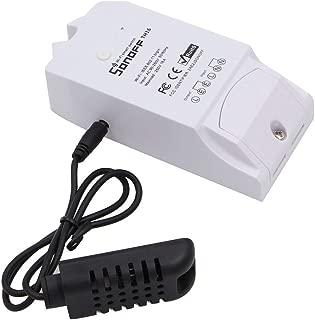 Sonoff TH16 mit AM2301 Sensor Temperatur und Luftfeuchtigkeit berwachung WiFi Smart Switch fr DIY Smart Home Arbeit mit Amazon Alexa (TH16+am2301Sensor)
