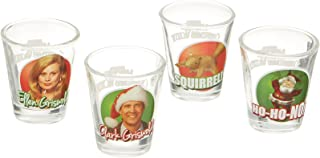 ICUP National Lampoon's Christmas Vacation Color Photo Shot Glass (4 Pack), Clear