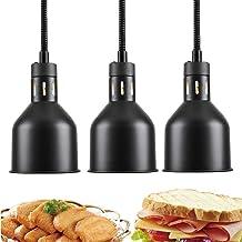 CHOUREN Commercial réglable Lampe chauffante Buffet chaud électrique avec ampoule infrarouge, restaurant Cuisine Équipemen...