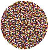 myfelt Filzkugelteppich Lotte - 70 cm