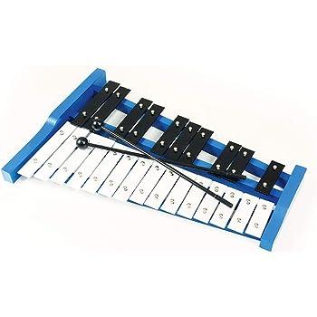 Eastar Glockenspiel 25 note with Hard Plastic Box Portable Kids Glockenspiel Educational Percussion Xylophone