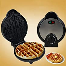 Machines à cupcakes Fer à repasser à 4 tranches for gril avec contrôle de température réglable, acier inoxydable 1200W pou...