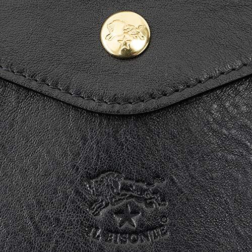 ILBISONTE(イルビゾンテ)がま口財布レディースメンズユニセックス三つ折り財布C0423P153[並行輸入品]