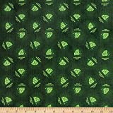 Camelot Fabrics The Wizard of Oz Emerald City in, Green Yard