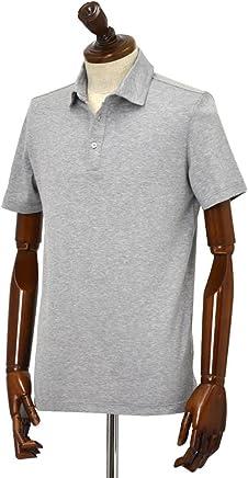 Cruciani【クルチアーニ】ポロシャツ JF826PC GRIGGIO コットン ジャージー グレー