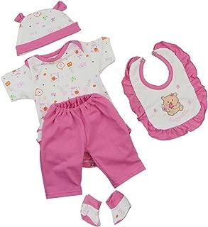Set di calzini con pettorina a forma di gufo modello per bambole Reborn Baby