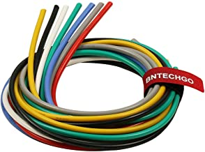 BNTECHGO 12 Gauge Silicone Wire Kit Ultra Flexible 7 Color High Resistant 600V 200 deg C Silicone Rubber Insulation 12 AWG...