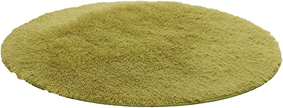 Multi-Size Round Area Rugs Solid Super Soft Home Cozy Shaggy Carpet Mat Bedroom Luxurious Furry Floor Pads for Living Room...