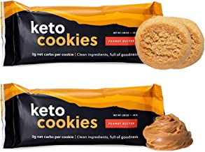 Perfect Keto Cookies - Low Net Carb Snacks & Sweets, No Added Sugar and Gluten-Free Cookies – Keto Food for Healthy and Ke...