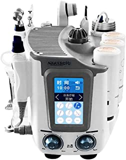TXqueen Oxygen Water Skin Care Injection, 6-in-1 Hydrogen Oxygen Ultra-Micro Bubble Face Skin Hydro Spa Machine Facial Moisturizing Pores Cleansing Wrinkle Remover Skin Rejuvenation Device