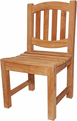 Anderson Teak Kingston Dining Chair, Natural