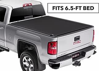 TruXedo Pro X15 Soft Roll Up Truck Bed Tonneau Cover | 1472001 | fits 14-18, 2019 Limited/Legacy GMC Sierra & Chevrolet Silverado 1500, 2500HD, 3500HD 6'6