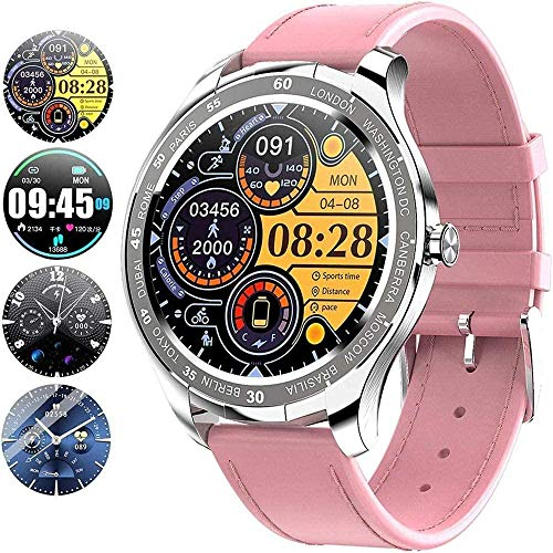 JSL Reloj inteligente Ip67 impermeable con pantalla táctil completa de 1.3 pulgadas Bluetooth Smartwatch