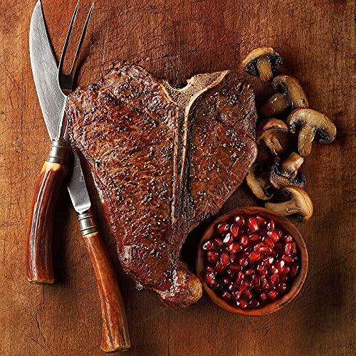 Porterhouse Steaks, 4 count, 22 oz each from Kansas City Steaks