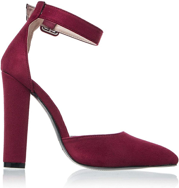 Woman High Heels Wedding shoes Brand Strap Heels Classic Heels Sandals 12 cm Ladies Red Platform Pumps