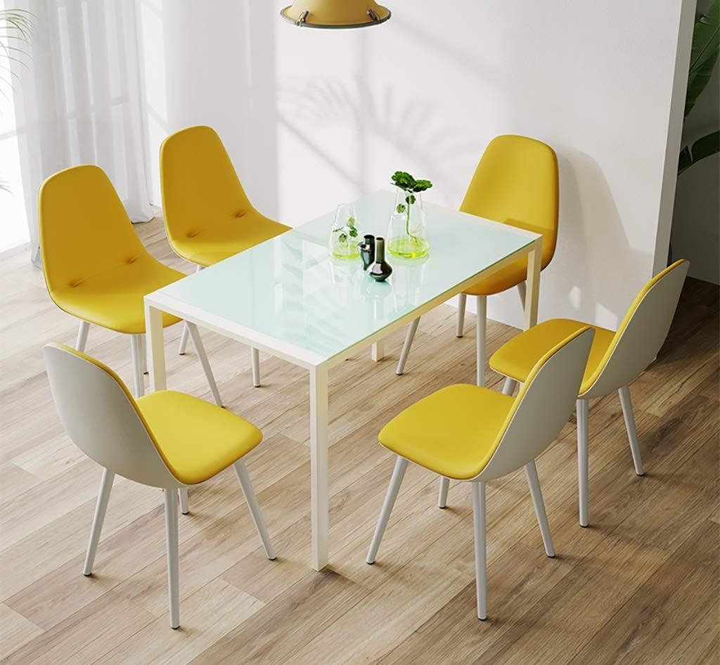 Chaises Chaise de salle à manger, chaise de salon à domicile chaise d'ordinateur chaise moderne simple chaise de bureau arrière (Couleur : F) G