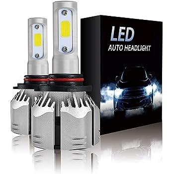 S2 Series Flip COB Chips Crownova H1 Led Headlight Bulbs 6500k Cool Daylight 3600lm High Beam//Low Beam//Fog Light Replacement Bulb