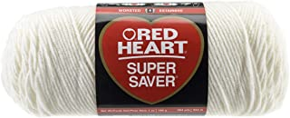RED HEART Super Saver Yarn, Soft White